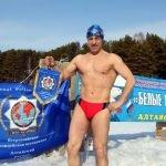 Морж из Барнаула попал в книгу рекордов Гиннесса