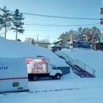 Алтайские спасатели установили наплощади Сахарова пункт обогрева