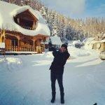 Футболист Денис Черышев приехал отдыхать в Горный Алтай
