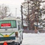 ВАлтайском крае уавтобуса вырвало колесо вовремя движения