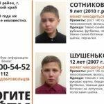 «Лиза Алерт» ведет поиски двух детей в Барнауле