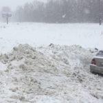 Несколько автомобилей выбросило в кювет на трассе Барнаул – Новосибирск