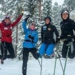 Любителям лыжных прогулок вбарнаульском лесу необходимо успеть покататься доморозов