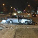 Очевидцы: пьяный водитель устроил ДТП в центре Барнаула