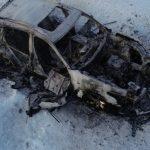 Двоих барнаульцев убили и сожгли в машине
