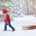 Алтайский мальчик чуть не задохнулся под снегом во дворе у бабушки