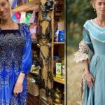 Актриса Ковальчук купила платье в Барнауле