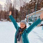 Мария Бутина встретила Новый год в семейном кругу