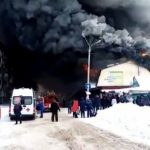При пожаре нарынке вИскитиме погиб продавец шапок