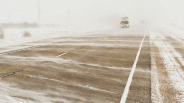 Нулевая видимость. В Алтайском крае перекрыли четыре трассы