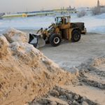 Вбелом плену: как икуда вБарнауле вывозят сотни тысяч кубометров снега