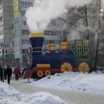 Барнаульцам вернули паровозик в центре города