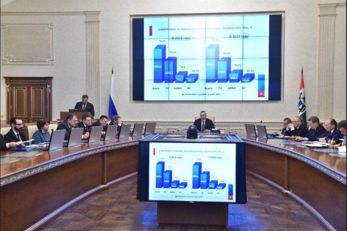 В Новосибирской области повысилась собираемость налогов на имущество физических лиц