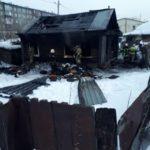 Отец и дочь погибли во время пожара в Барнауле