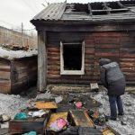 13-летняя девочка с отцом погибли при пожаре в частном доме Барнаула