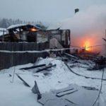 Спасенный из пожара мужчина скончался по дороге в больницу в Камне-на-Оби