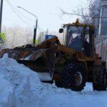 Барнаульские дорожники перешли на усиленный режим работы из-за гололеда
