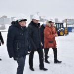 Андрей Травников: «Смонтировать металлоконструкции Ледовой арены планируется за лето»