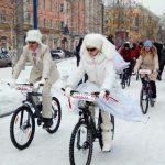 Барнаульцы 14 февраля поедут на работу или свидание на велосипеде