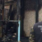 В Барнауле утром в своём доме сгорел мужчина и его 13-летняя дочь