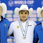 Алтайский конькобежец выиграл бронзу Кубка мира и обновил личный рекорд