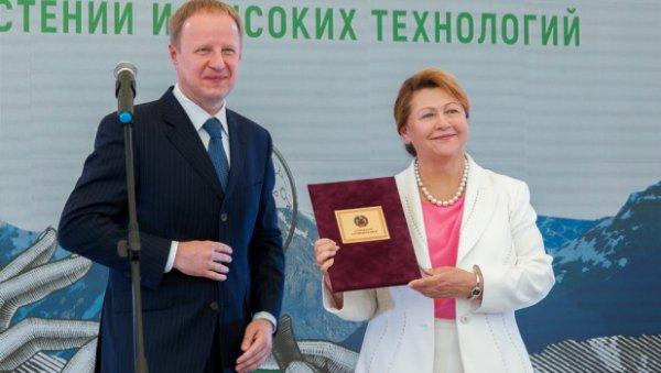 Бизнесменка изАлтайского края признана одной изсамых богатых дам Рф