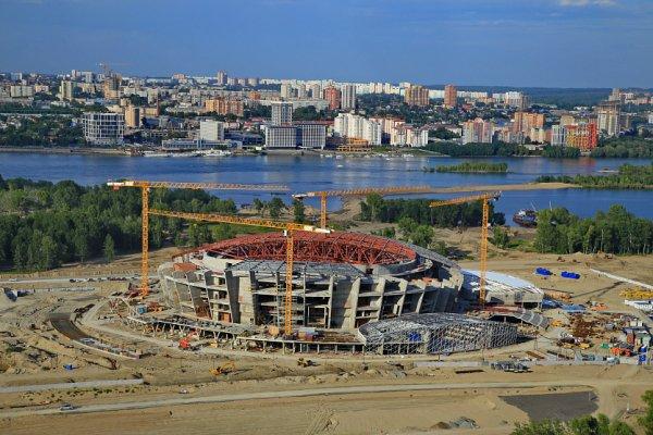 """Министр: ледовую арену в Новосибирске сдадут в срок""""/>"""