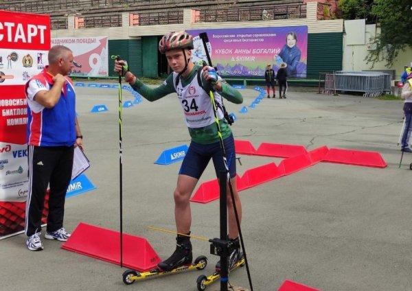Алтайские биатлонисты стали победителями и призерами состязаний в Новосибирске