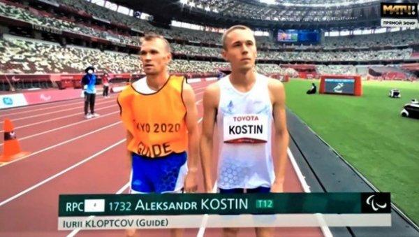 Алтайский спортсмен выиграл бронзовую медаль наПаралимпиаде вбеге на5000 метров