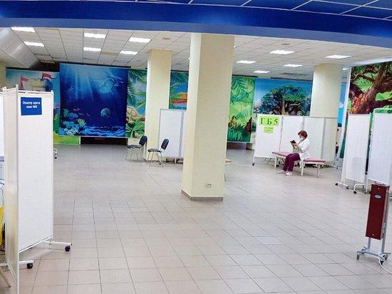 Площадь пункта вакцинопрофилактики от коронавируса расширили в барнаульском ТЦ