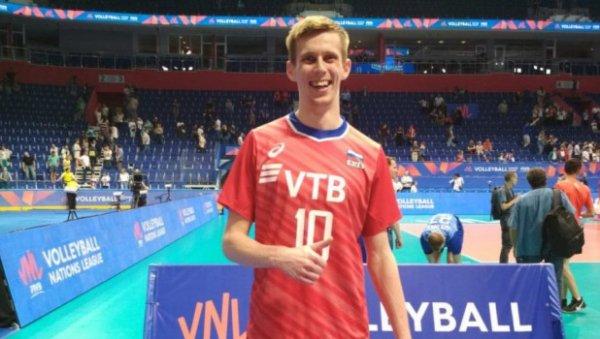 Воспитанник алтайского волейбола присоединился кроссийской командой