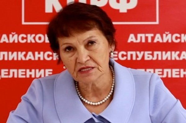 Алтайский депутат упрекнула избирателей в недостатке интеллекта