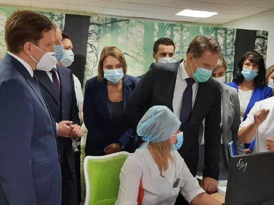 Министр здравоохранения РФ прибыл в Алтайский край