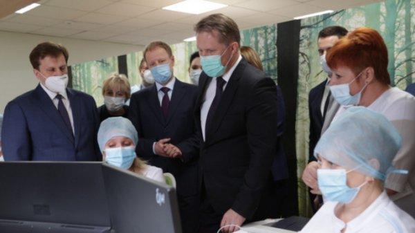 Мурашко оценил модернизацию первичного звена звена здравоохранения в Барнауле