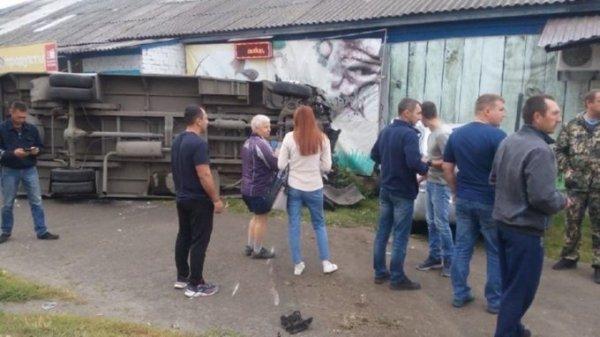 В ГИБДД рассказали подробности аварии с участием маршрутки в Бийске