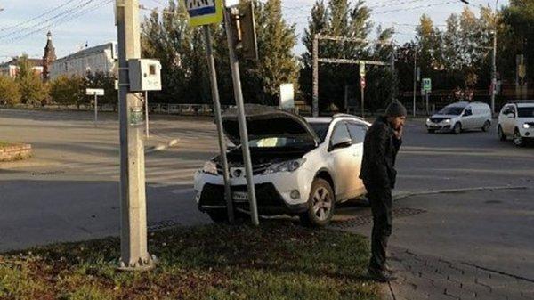 ДТП с участием четырех автомобилей произошло в Бийске