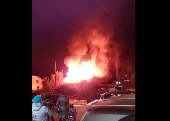 СК рассказал, что произошло до страшного пожара на Южном
