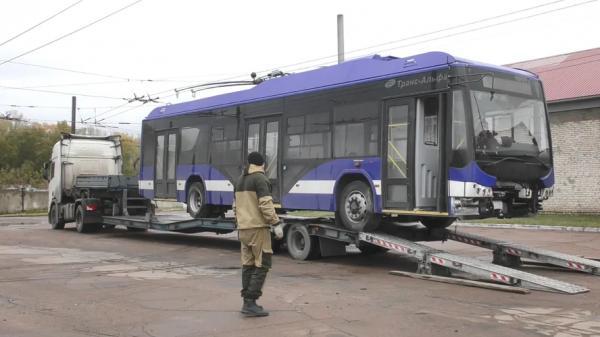 В Рубцовске появился еще один новый троллейбус