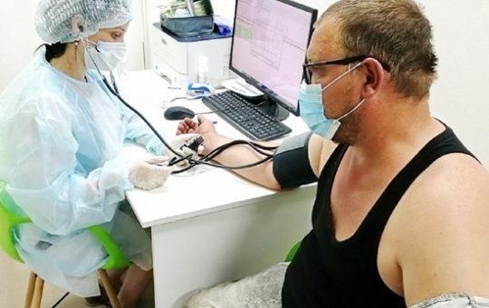 В ТЦ «Геомаркет» из-за ажиотажа на вакцинацию добавили прививочные кабинеты